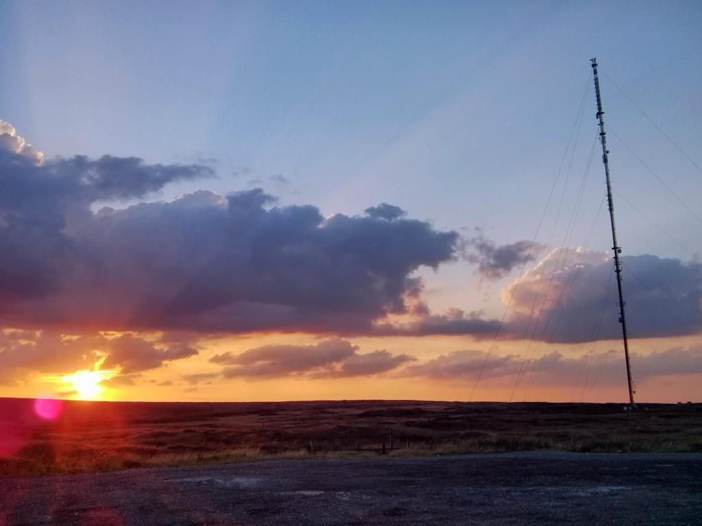 Holme Moss Sunset