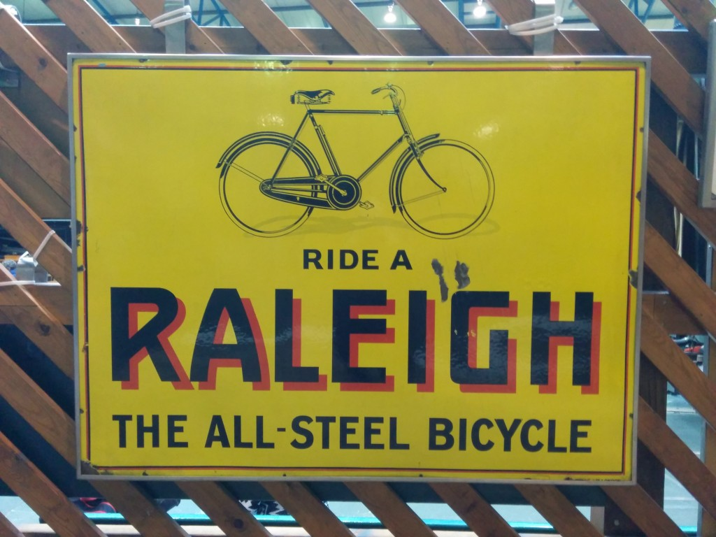 Vintage Raleigh Advert